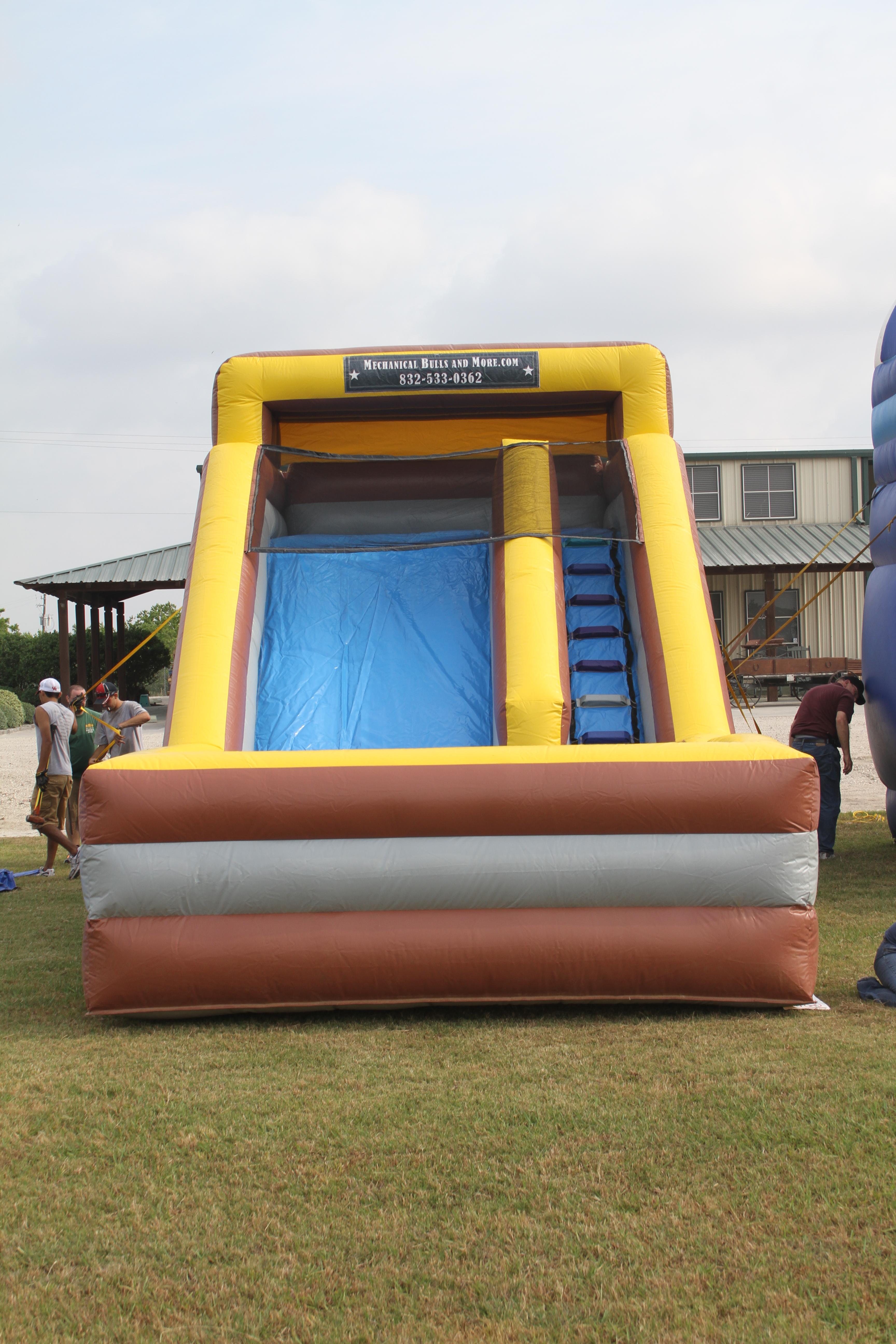 14 Foot Dry Slide 2