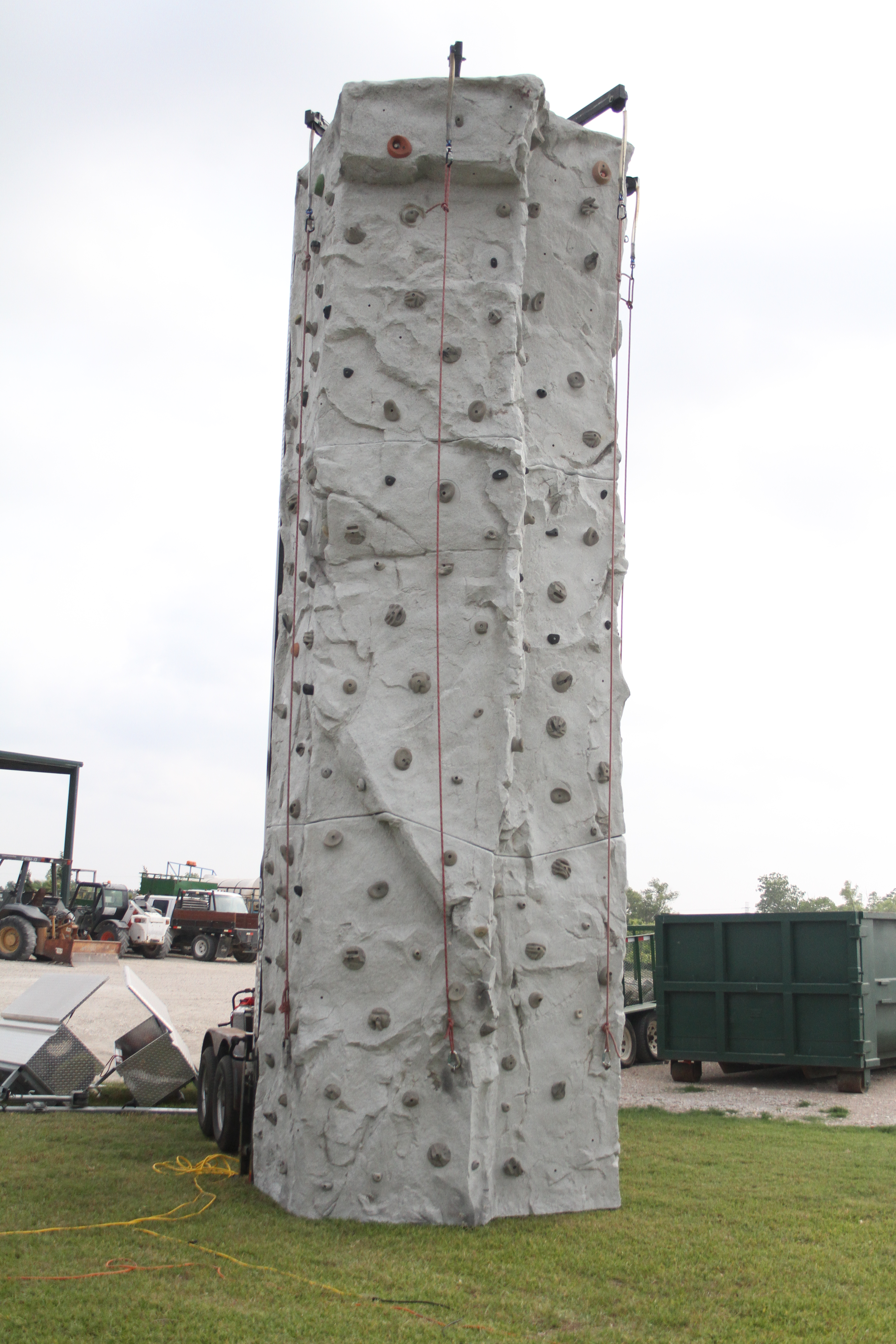 24 Foot Rock Wall 1
