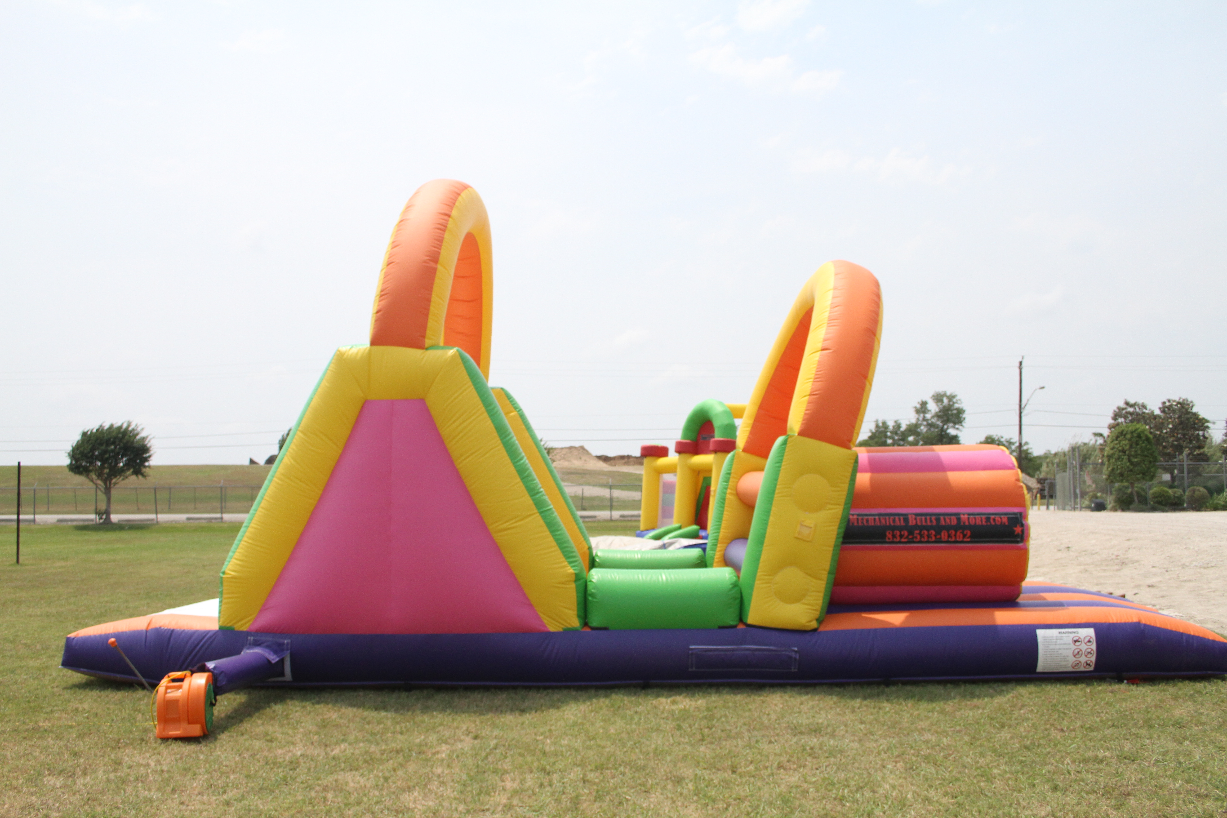 33 Foot Obstacle Course 1