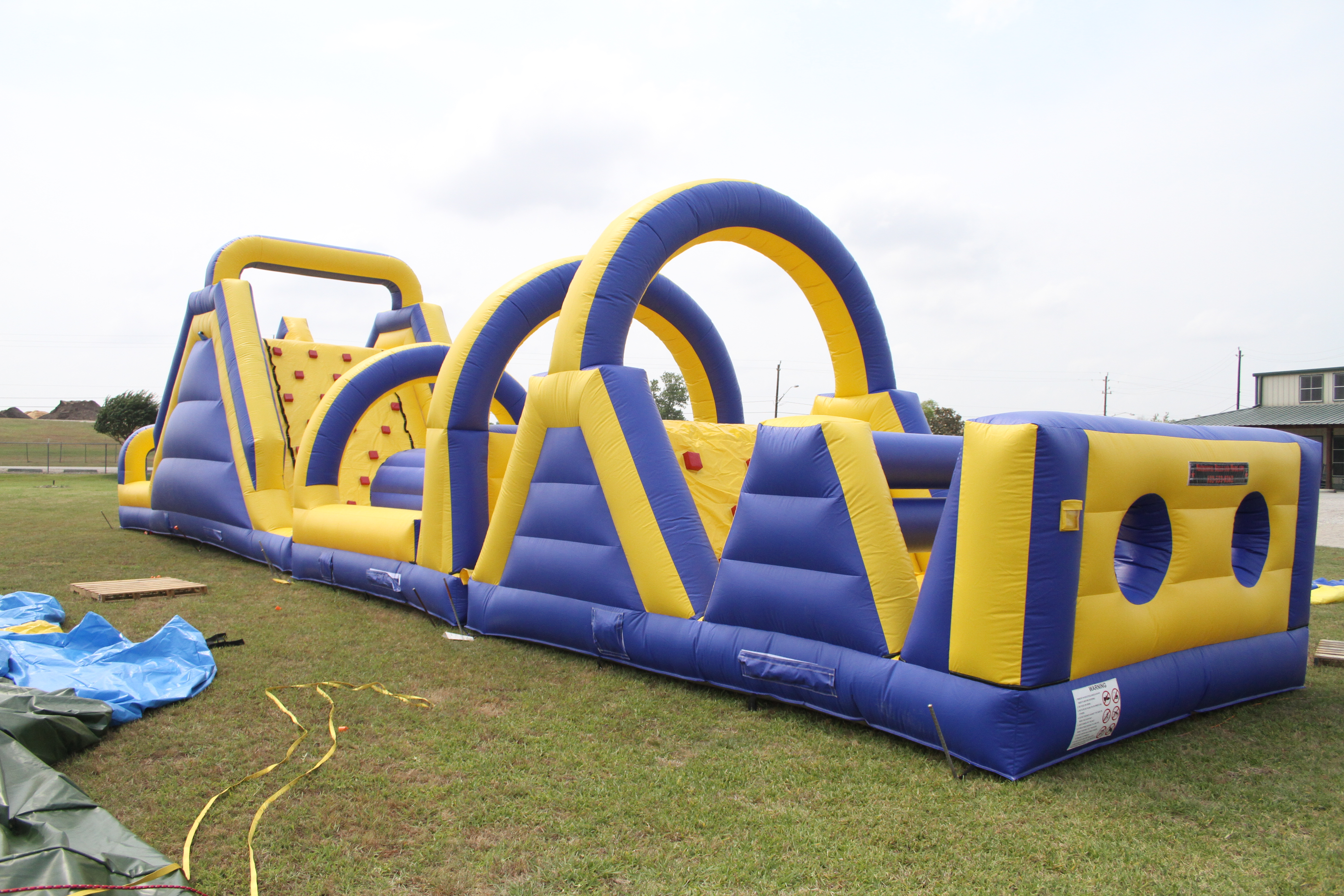 72 Foot Obstacle Course 1