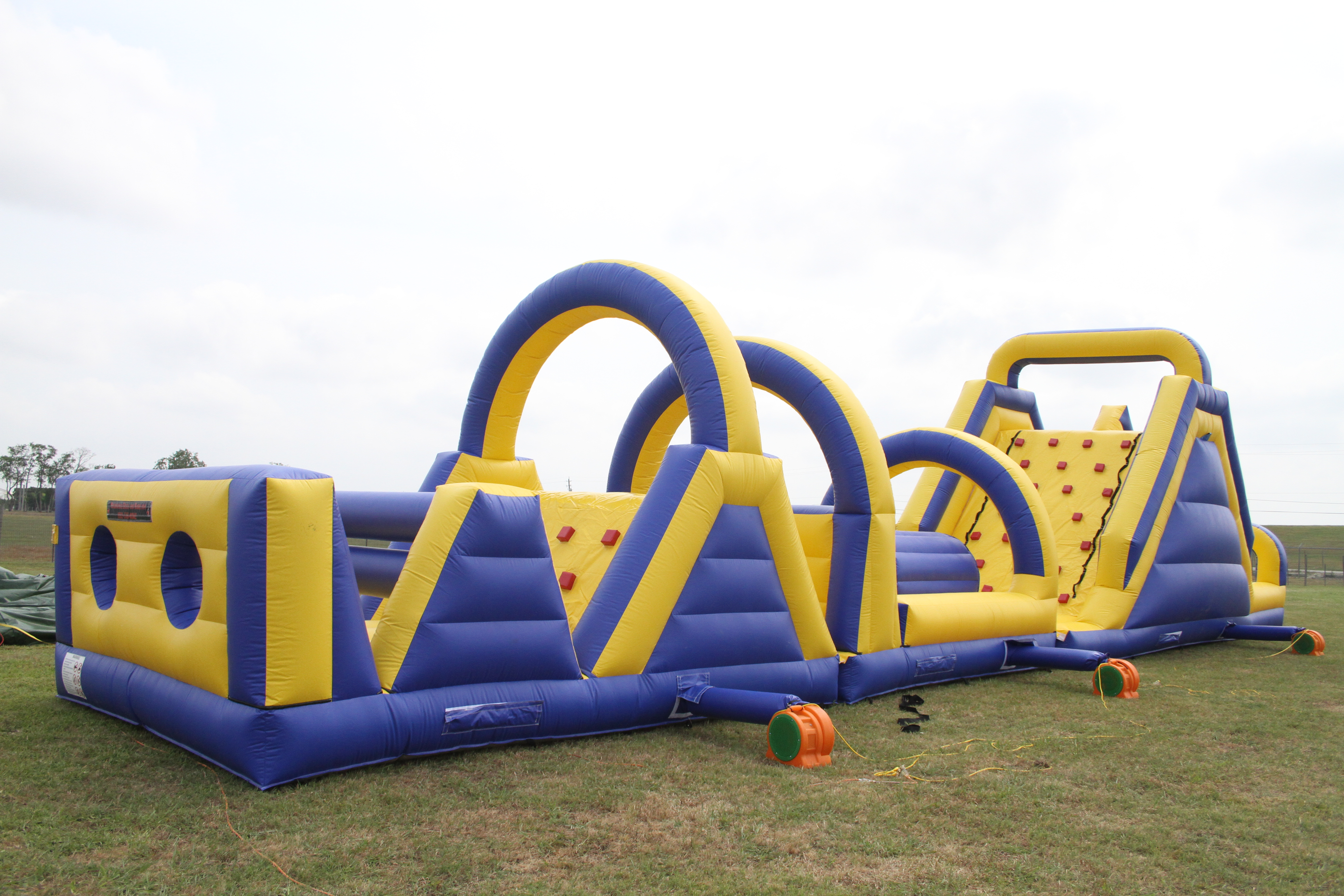 72 Foot Obstacle Course 2