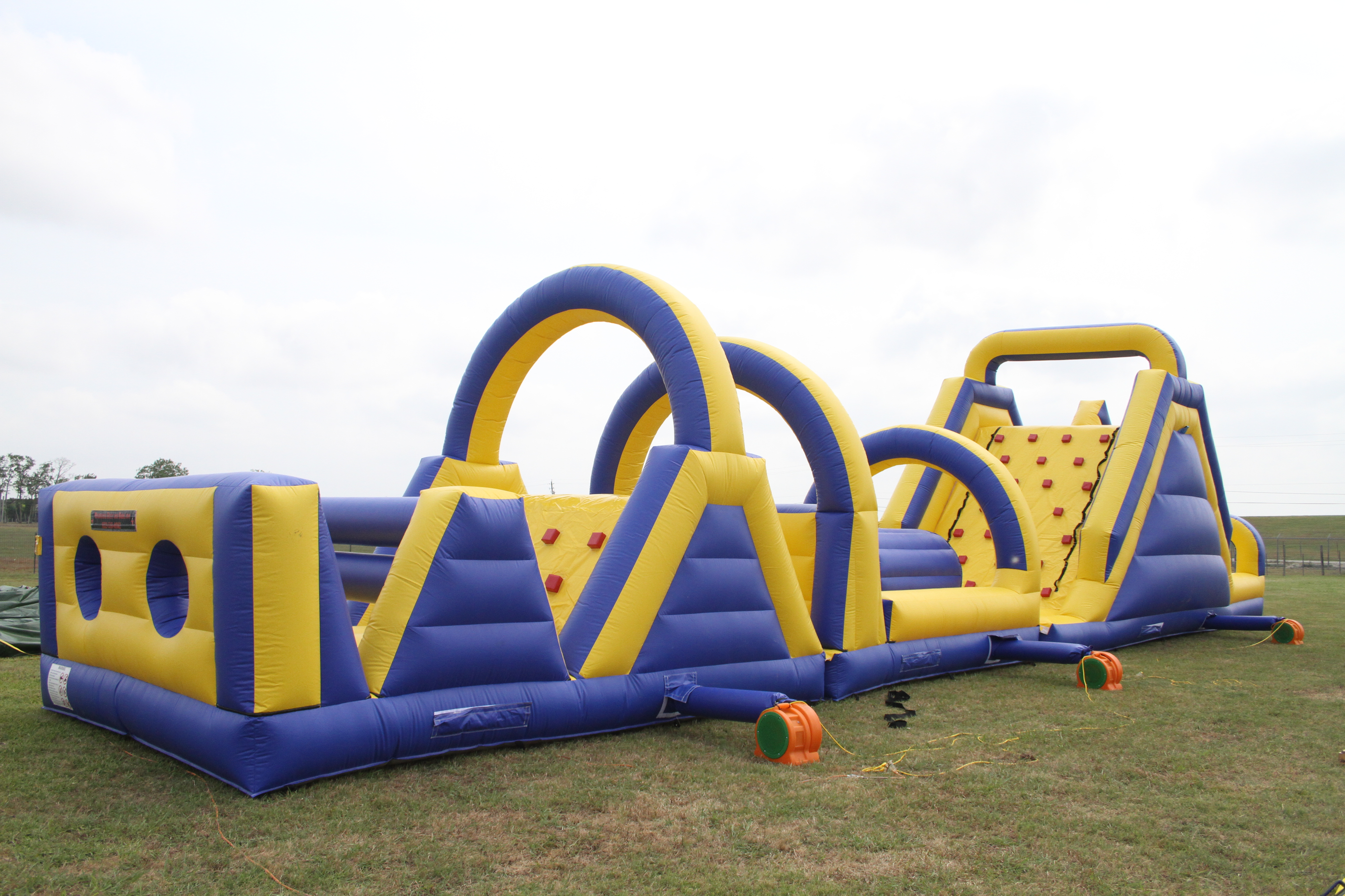72 Foot Obstacle Course