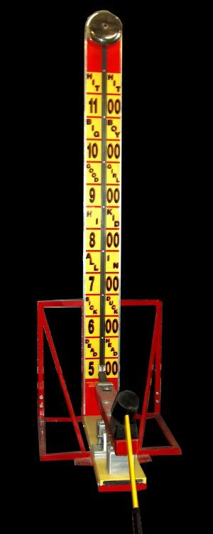 10 ft High striker carnival game