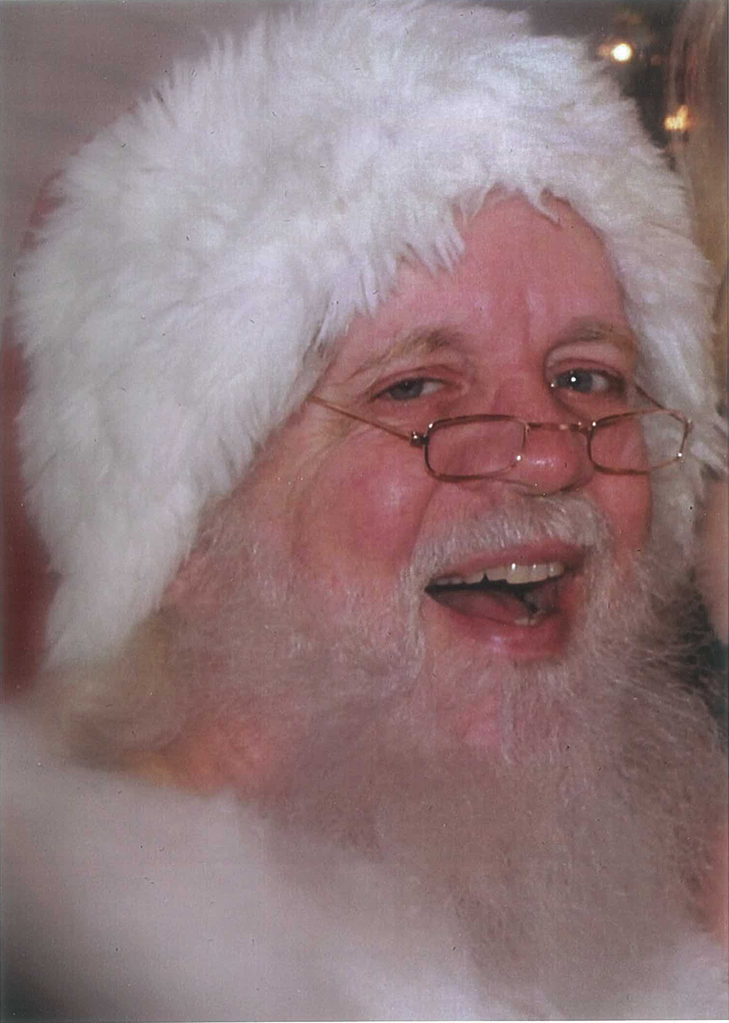 Santa Claus full beard