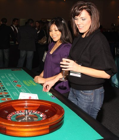 roulette table casino rental houston