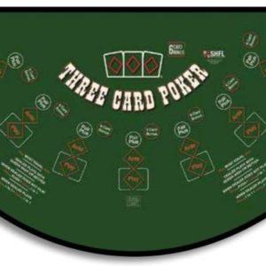 Three card poker table rental houston