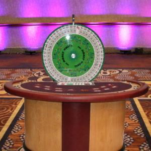 money wheel table rental houston