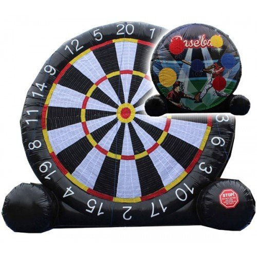 double sided soccer darts inflatable